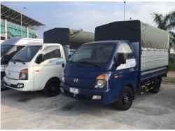 Xe Tải Hyundai Porter H150 1.5 Tấn Thùng Bạt