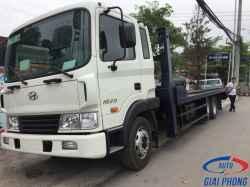 Xe Nâng Đầu Chở Máy 3 Chân Hyundai HD210 13.5 Tấn