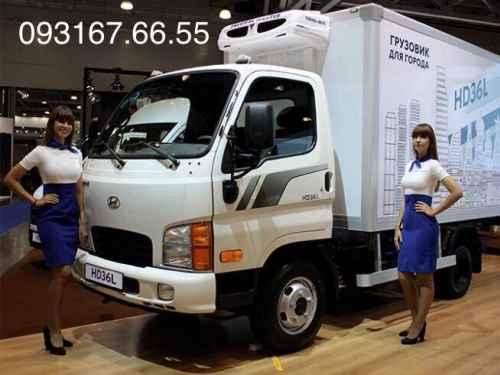 Xe Tải Hyundai HD36l 1.9 Tấn Thùng Kín