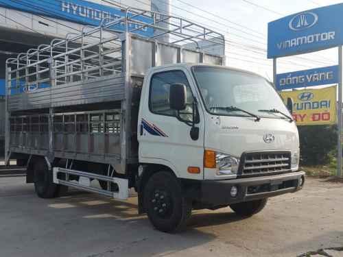 Hyundai HD700 7 Tấn Đồng Vàng Thùng Bạt