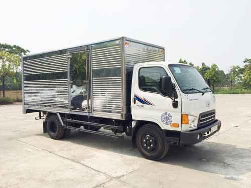 Hyundai HD700 7 Tấn Đồng Vàng Thùng Kín