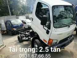 Xe Tải Hyundai N250 2.5 Tấn Thùng Lửng