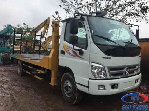 Xe Nâng Đầu Chở Máy Thaco Ollin 700B 7 Tấn