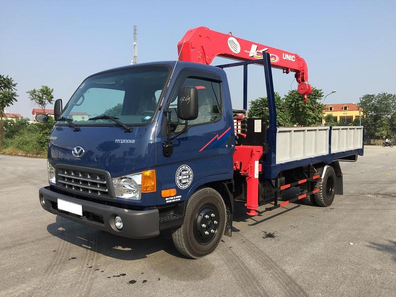 Xe tải 8 tấn Hyundai HD120SL gắn cẩu Unic UR-V344