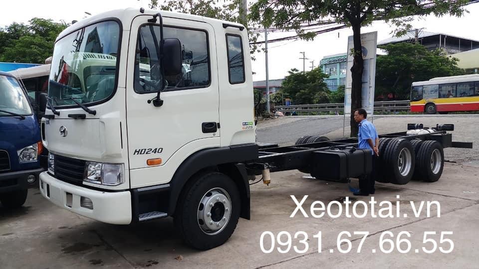xe hyundai hd240 15 tấn nhập khẩu