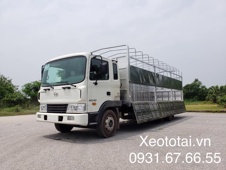 xe tải nặng hd240