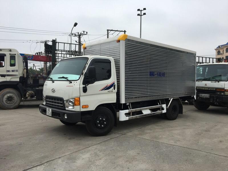 xe tải hd700 thùng kín