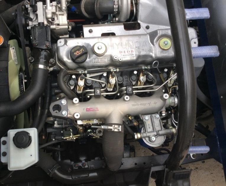 động cơ hyundai hd700