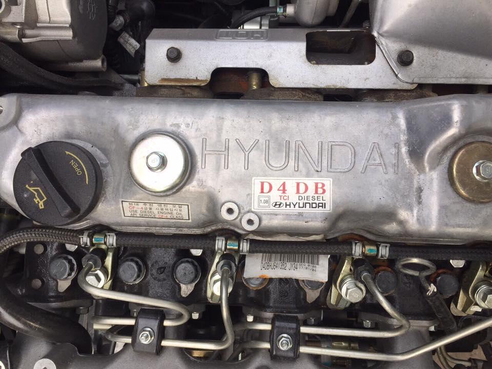 động cơ xe tải cẩu hyundai hd120sl gắn cẩu