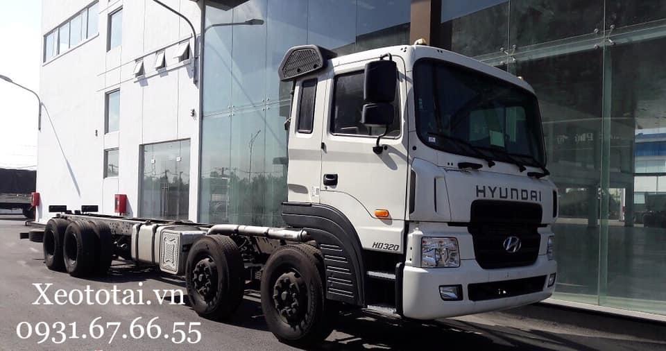 ngoại thất xe tải hd320