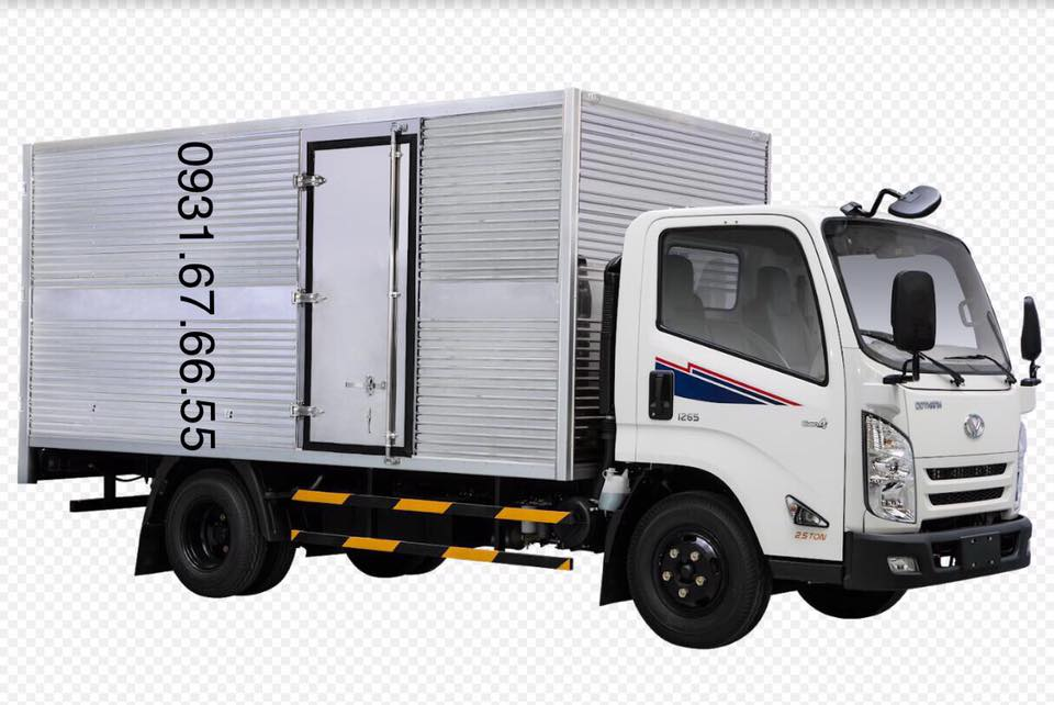 ngoại thất xe iz75s thùng kín