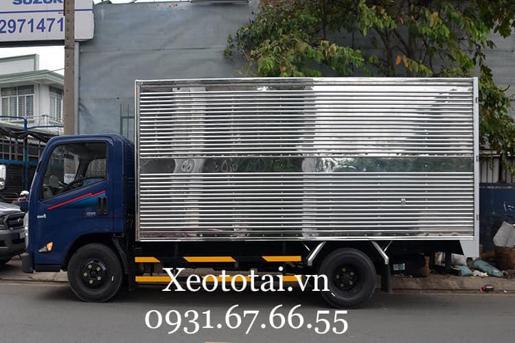 ngoại thất xe tải đô thành iz75s