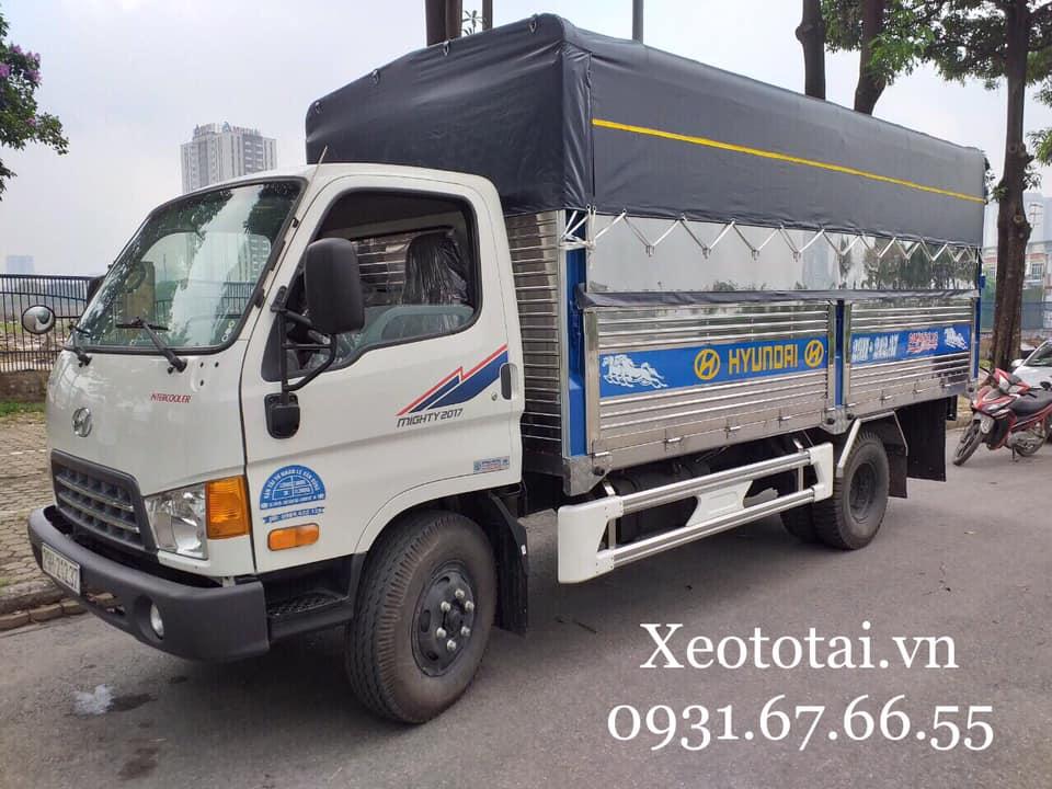ngoại thấy xe tải hyundai mighty 2017