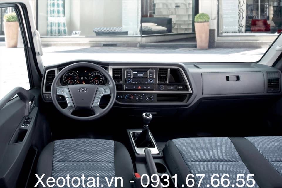nội thất xe hyundai mighty 2017