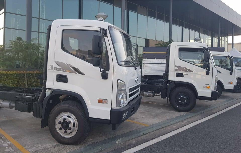 xe tải hyundai ex8 mui bat