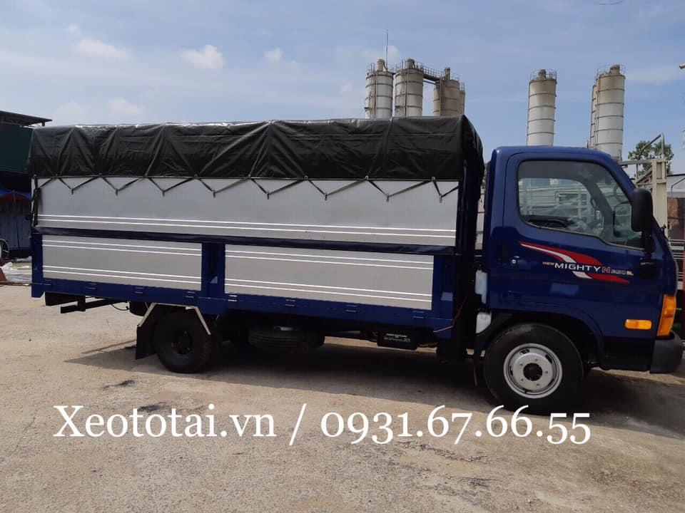 ngoại thất xe tải n250sl