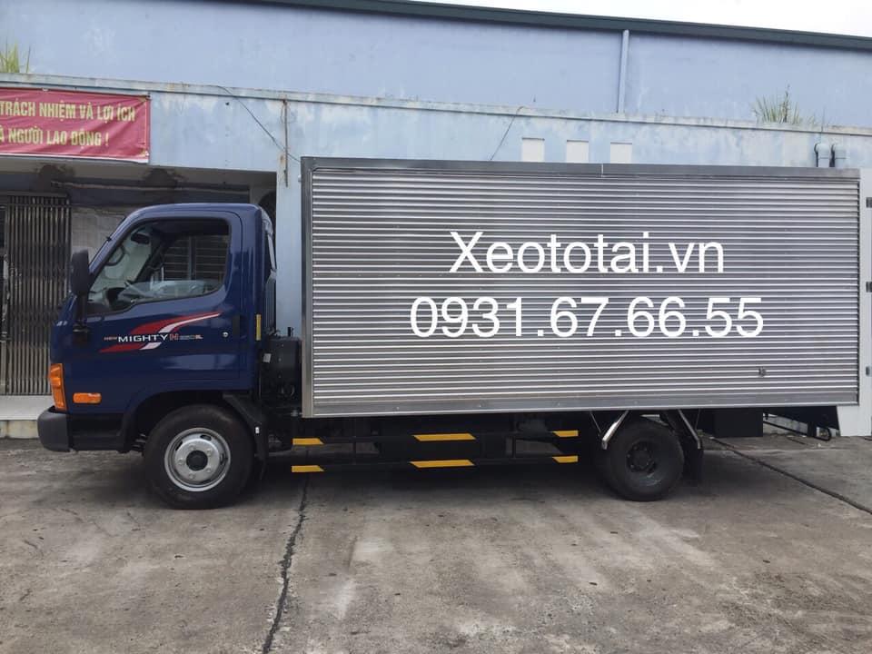 xe tải n250sl thùng kín