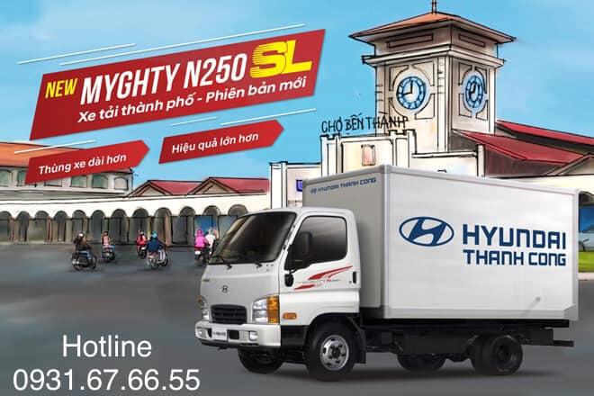 xe tải hyundai 2.5 tấn n250sl