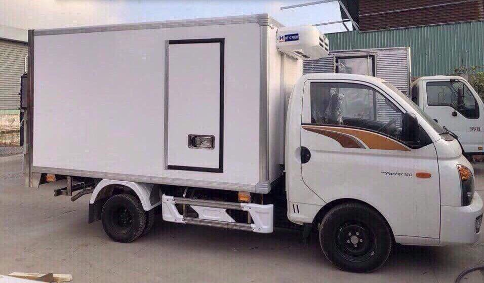 xe porter 150 thùng đông lạnh