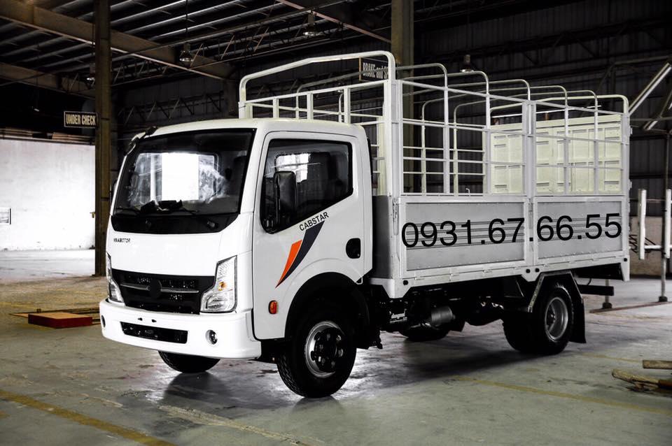 xe tải đồng vàng 3.5 tấn
